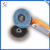Abrasivos revestidos de alta calidad de acero inoxidable tapa de disco abrasivo de lijado