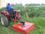 농장 트랙터 방안 잔디 절단기 회전하는 Slasher