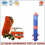 5 Front-End Hydraulisch van de Cilinder van het stadium Telescopische voor de Vrachtwagen van de Stortplaats