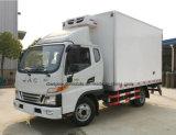 JACは4X2によって冷やされているヴァンを5つのTのフリーザーのトラック新し設計する