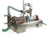 압축 공기를 넣은 1대의 맨 위 액체 충전물 기계