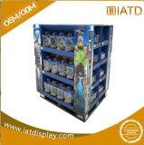 La pantalla de papel corrugado de cartón Pallet Rack de mostrar a la venta minorista