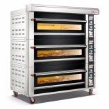 Luxe 3 Dekken 15 de Apparatuur van het Baksel van de Oven van het Dek van het Gas van Dienbladen