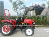 55kw四輪駆動の農場トラクター(75HP、タクシーとの4WD)