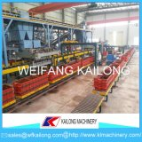 Ligne de moulage hydraulique de bâti de qualité