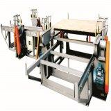 木工業機械自動合板の端のトリミングは見た