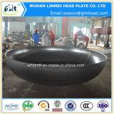 熱い販売のステンレス鋼の皿ヘッド圧力容器のエンドキャップ