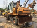 Excavatrice sur roues Samsung d'occasion Samsung Mx6w-2 Excavatrice sur pneus