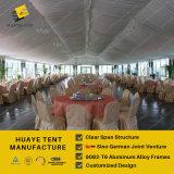 Picos altos de parede de vidro elegante tenda para efeitos da festa de casamento
