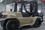9トンの頑丈なディーゼルフォークリフト容量9000kgsのフォークリフト
