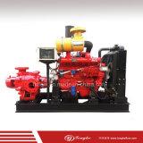 고압 수평한 Multisatge 디젤 엔진 화재 싸움 펌프