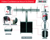 """Video Conference Dual Stand Screen 30-60 """" Lockable Cabinet (VRS 2000A)"""