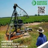 Оросительная система фермы спринклера оси центра сбережения воды энергии панели солнечных батарей аграрная