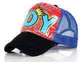 新式の赤6のパネルによって印刷される人の帽子