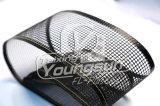 Nastro trasportatore aperto del tessuto di maglia della vetroresina rivestita di teflon