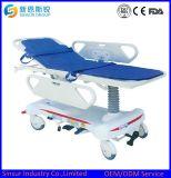 Krankenhaus-Geräten-Edelstahl-Emergency medizinische Transport-Bahre-Laufkatze