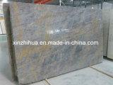 Итальянский мраморными плитками серого цвета золота и серого мрамора