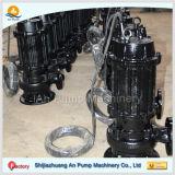 Schmutzige Wasser-Entwässerung-versenkbare Abwasser-Wasser-Schleuderpumpe im Aufbau