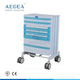 AG-Wnt001 con material ABS Carro médica Medicamentos para el Tranvía de emergencia