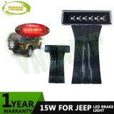 cola del Wrangler LED tercer del jeep 15W y luz de freno