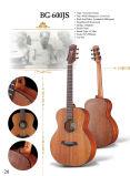 A maioria de guitarra acústica superior contínua popular de Mahagony