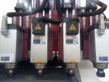 La ley Router CNC Máquina de grabado con una larga mesa, 4 Cabezas, diferentes herramientas, vacío Adsoption, absorción de polvo