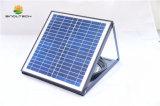 indicatore luminoso di soffitto rotondo di 15W LED alimentato dal comitato solare con la batteria incorporata (SN2016001)
