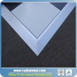 3 'X 3' Plate-forme en bois de danse avec bord en aluminium