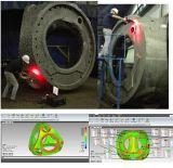 Linha varredor do laser de duas cores de laser 3D Handheld portátil do detalhe perfeito da foto (YL-HS757)