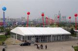 Barraca desobstruída grande do partido do famoso da exposição de Outdor da parede de vidro