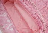 As senhoras elegantes do vestido longo do laço da luva ocasionais tornam ôco para fora o vestido do outono