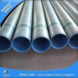 Tubo de acero galvanizado modificado para requisitos particulares (con las cuerdas de rosca y los socketes)