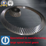 Тяжелая промышленность поворотный стол спиральной конической шестерни