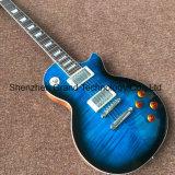 Commerce de gros Lp guitare électrique avec matériel de chrome en bleu (L-G9)