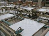 アルミホイルBacking238-5が付いているPVCによって薄板にされるギプスの天井のボード