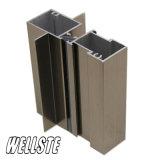 Porta deslizante do material de construção de alumínio do perfil do frame de indicador de alumínio