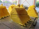 Cubeta de cavadura resistente de Grapper da garra padrão da máquina escavadora do Jcb Kobelco KOMATSU do OEM
