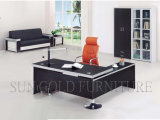 Top Black Classy Furniture Commercial Executive Desk MDF Office Table