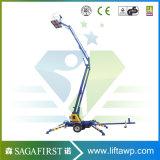 Marcação ISO qualificado rebocável 14m 16m de Elevação da Lança Rebocado