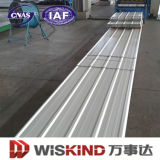 Folha de metal ondulada colorida do certificado do ISO