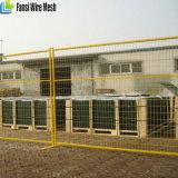PVC removível revestido 6ftx10ft Canada Temporary Fence