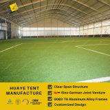 tienda curvada grande del deporte de los 48X98m para el fútbol y juego y acontecimiento del tenis