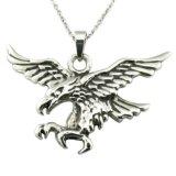 De unisex- Antieke Zilveren Tegenhanger van de Schedel