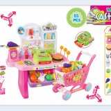 Plastikminisupermarkt-Spiel-Spielzeug mit En71