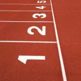 Synthetic Athletic Running Track/Plastic Rubber Racetrack Sports Field/Runway Surfaces Flooring