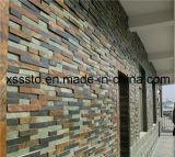 Pietra naturale del rivestimento delle mattonelle dell'ardesia del materiale da costruzione per la parete