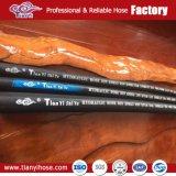 Hitzebeständiges flexibles Gummihochdruckrohr-hydraulischer Gummischlauch