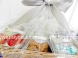 Bougie parfumée personnalisée de cire de soja en étain