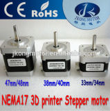 Motor de pasos ofrecido de Products1.8deg NEMA17 para la impresora 3D