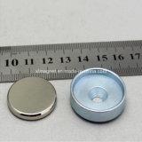 さら穴を開けられると金属板亜鉛のニッケルのネオジムの磁石